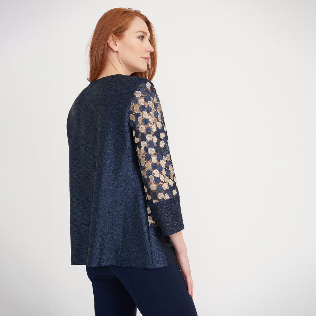 JOSEPH RIBKOFF // 203270 EMBROIDERED JACKET