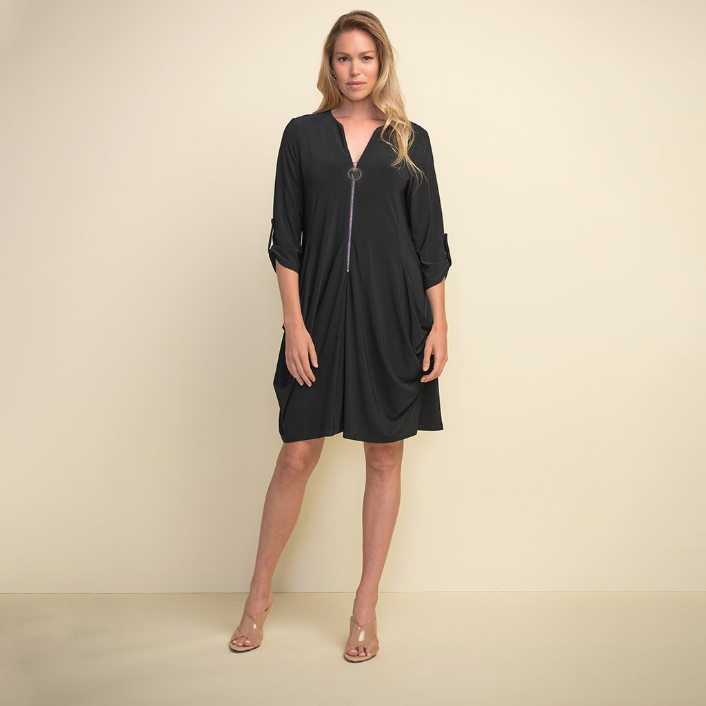 JOSEPH RIBKOFF // 211238 ZIP FRONT DRESS