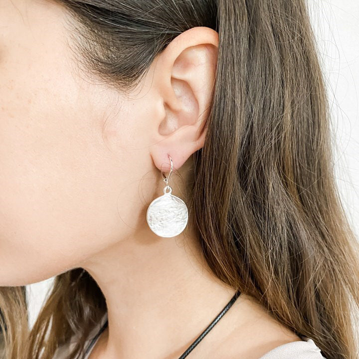 CARACOL // 2233-SLV EARRINGS