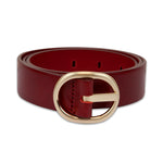 LANDES // 24691 BELT RED GOLD