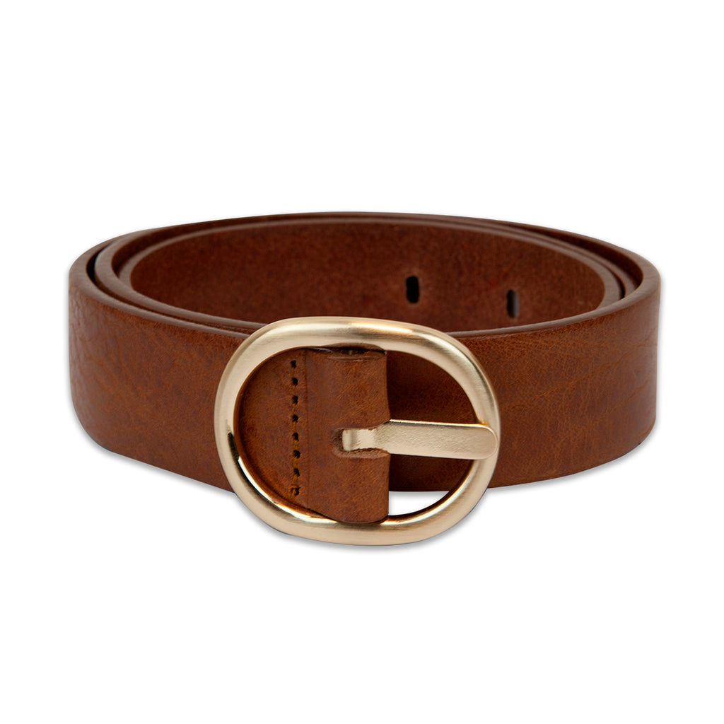 LANDES // 24691 BELT TAN GOLD