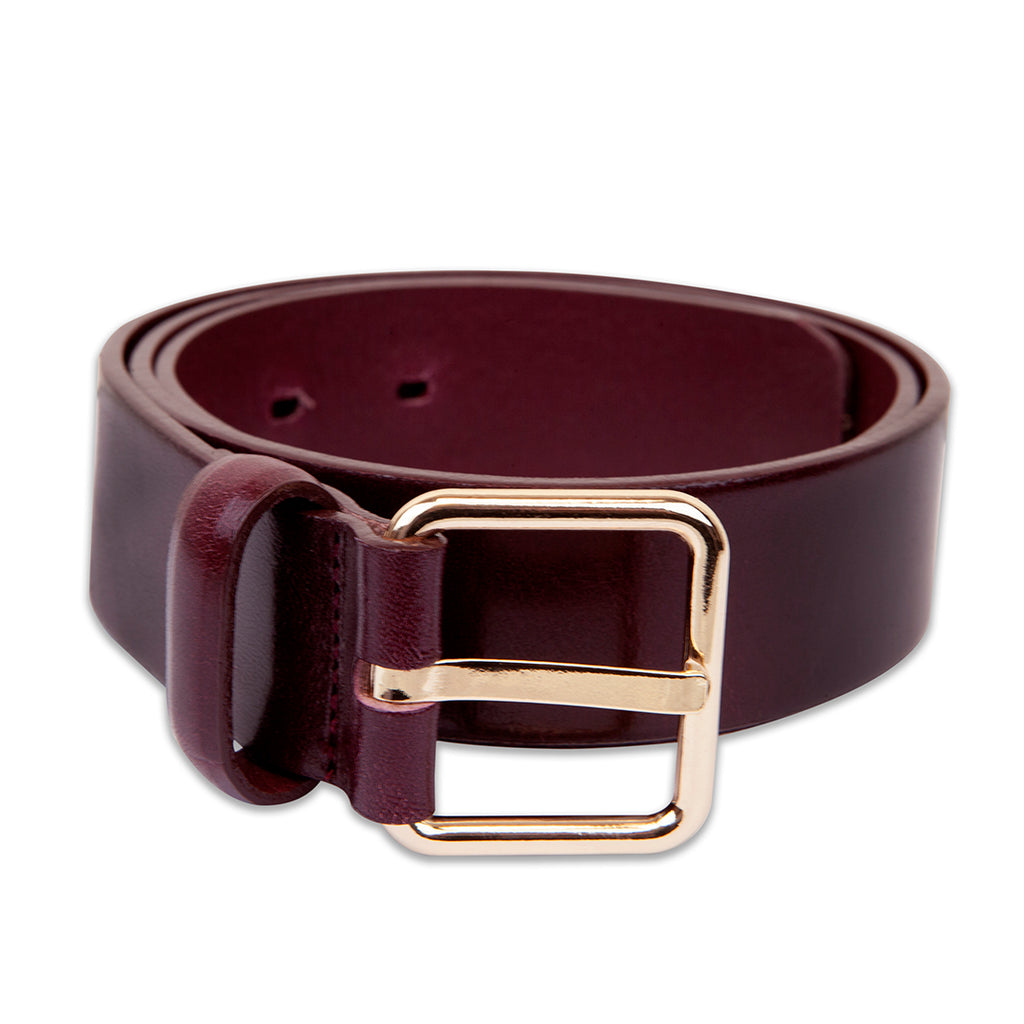 LANDES // 25401 BELT BORDEAUX GOLD