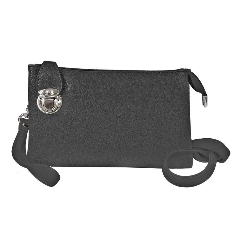 CARACOL // 7011-BLK CONVERTIBLE CLUTCH BLACK