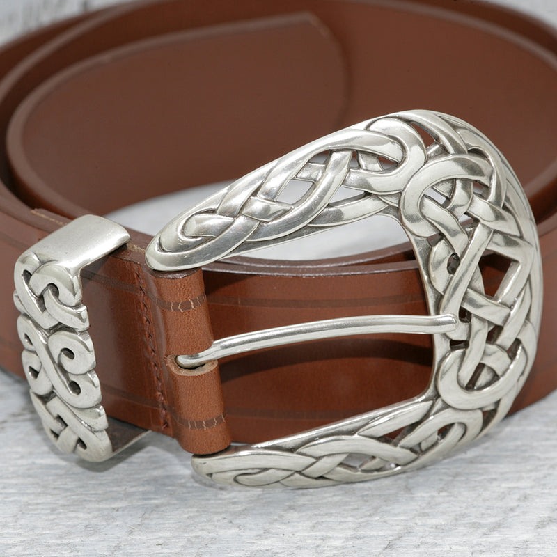 LANDES // 21481 BELT CELTIC PEANUT