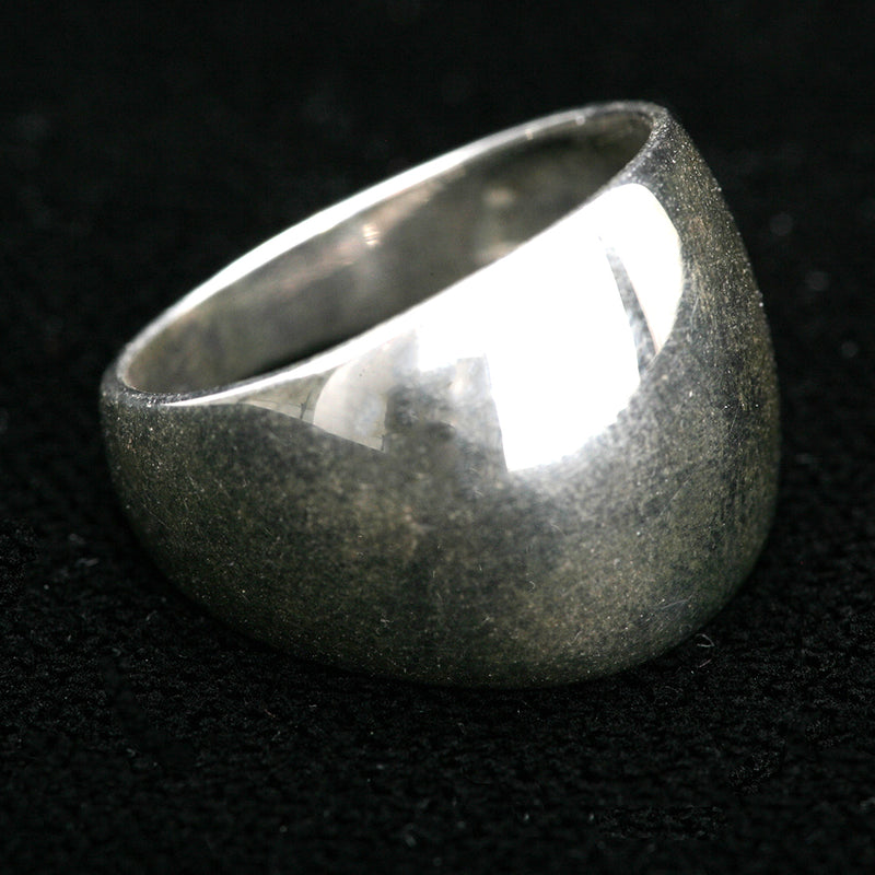 BAMIYAN SILVER // SMOOTH ROUNDED RING