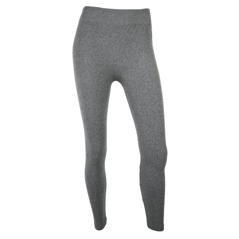 C'EST MOI // CEPFL-1007 FLEECE LINED LEGGING HEATHER CHARCOAL