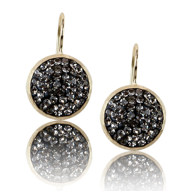 BAMIYAN SILVER // ECZ-7215 CRYSTAL EARRINGS