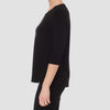 JOSEPH RIBKOFF // 183171 THREE-QUARTER SLEEVE TOP