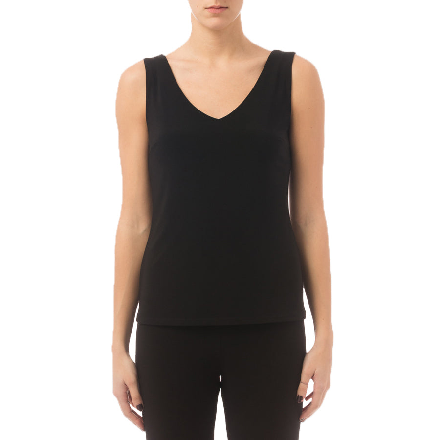 JOSEPH RIBKOFF // 34116 TAILORED TANK BLACK
