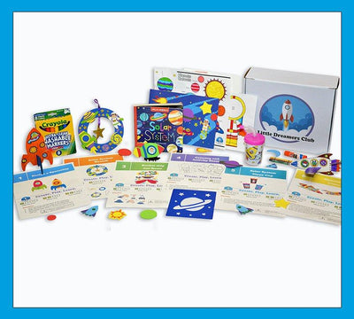 Solar System Craft Box Ages 3-5 - Little Dreamers Club