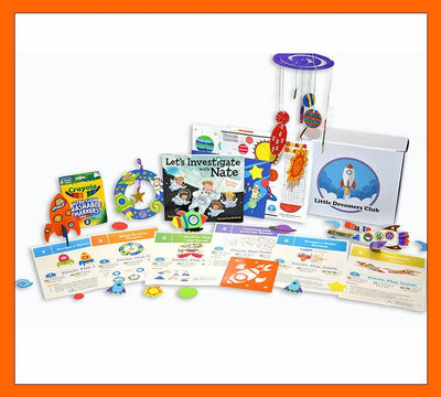 Solar System Craft Box Ages 6-8 - Little Dreamers Club