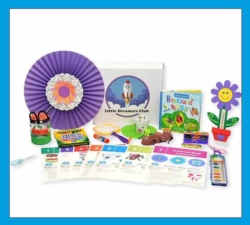 The Backyard Explorer Craft Box - Ages 3 - 5 - Little Dreamers Club