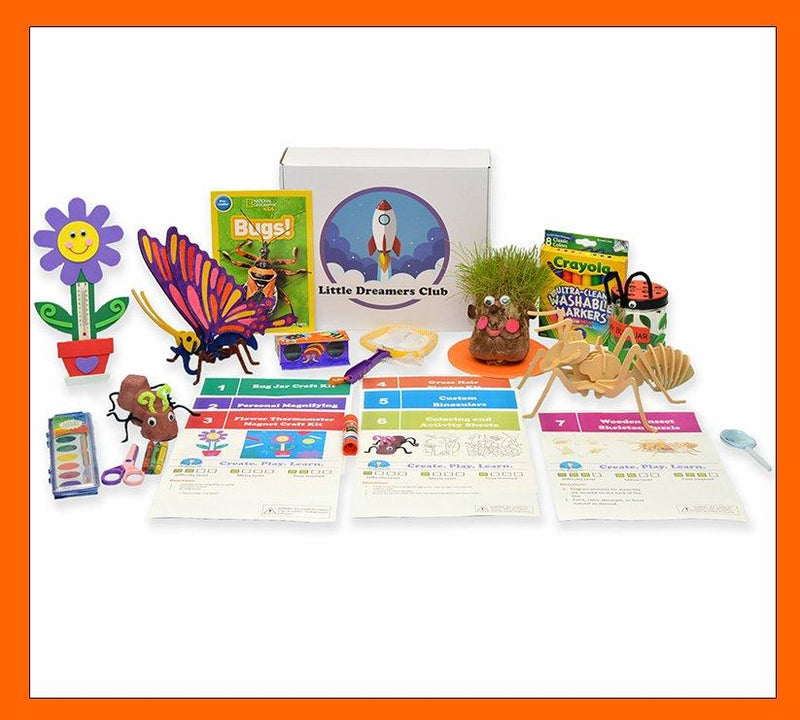 The Backyard Explorer Craft Box - Ages 6-8 - Little Dreamers Club