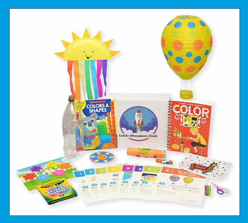 The Fun with Colors Craft Box - Ages 3-5 - Little Dreamers Club