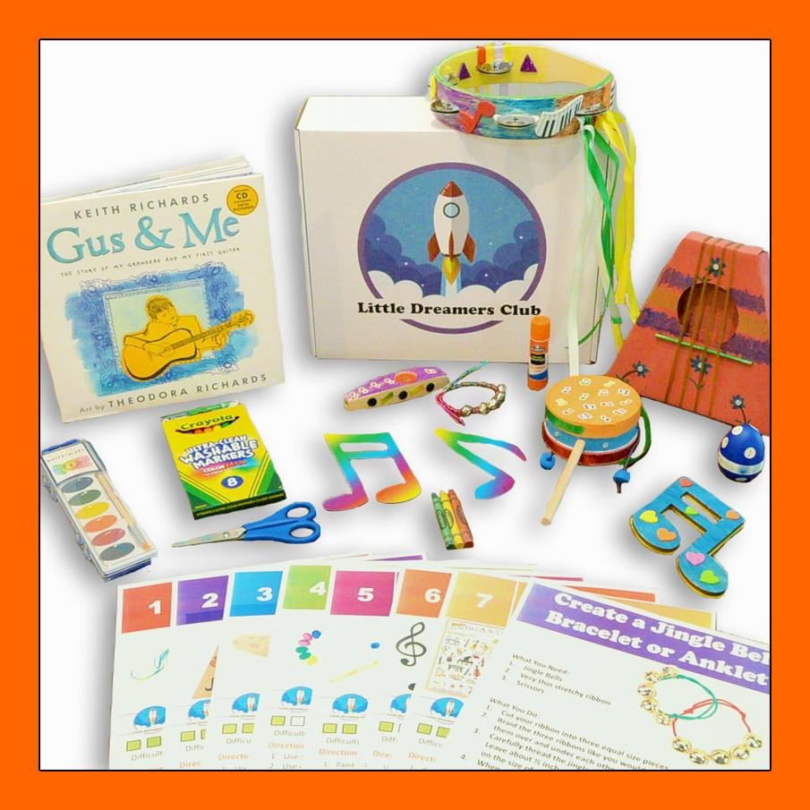 The Make Some Music Craft Box Ages 6-8 - Little Dreamers Club