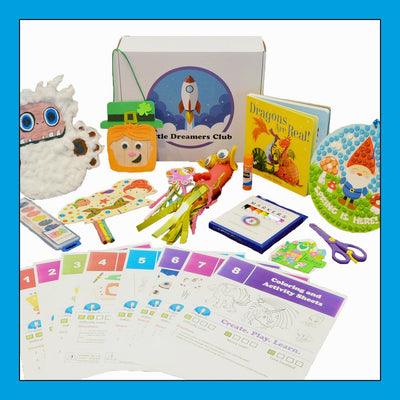 The Mythical Creatures Craft Box Ages 3 -5 - Little Dreamers Club