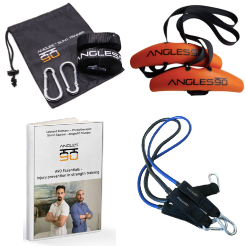 A90 Athlete Set + Ebook on injury prevention (*special offer now only!*)