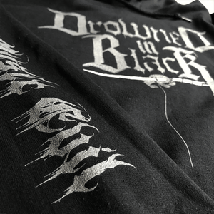 Drowned In Black Hooded Sweatshirt