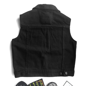 LADIES EverBlack Denim Vest