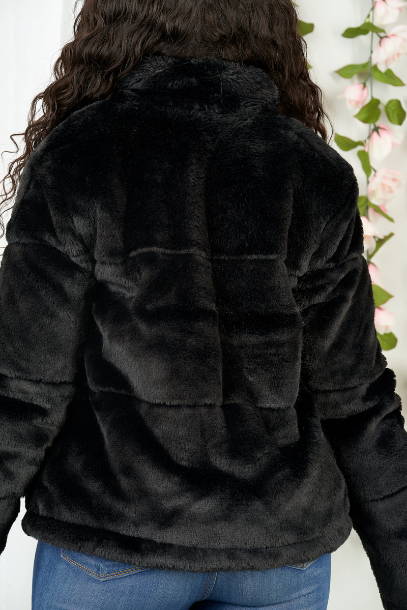 Big Bear Faux Fur Jacket-NYCOWLL
