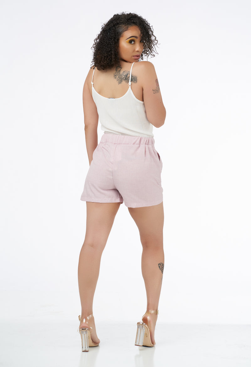 Malibu Dress Shorts - Pink-NYCOWLL
