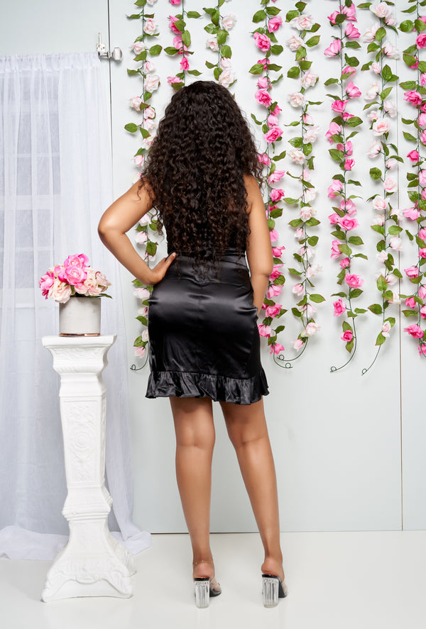 La_Belle_Asymetric_Ruffle_Dress_Black
