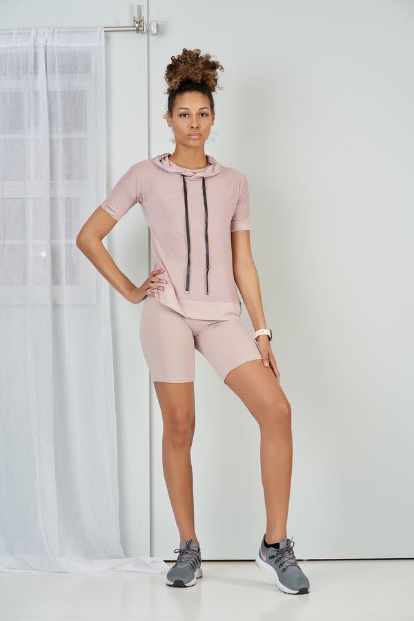 Miami 3 Piece Biker Short Activewear Set