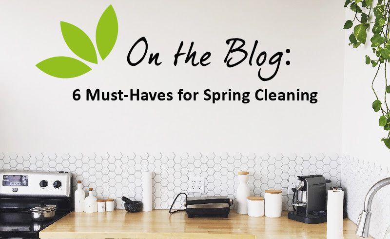 6 MUST-HAVES FOR SPRING CLEANING!