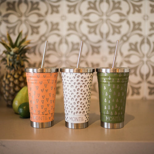 MontiiCo Printed Smoothie Cups