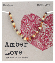 Load image into Gallery viewer, Amber Love Children's Necklace