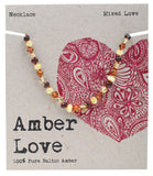 Amber Love Children's Necklace