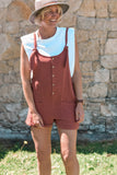 Seven Seas Playsuit - Rust