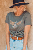 Wild At Heart Tee - Grey