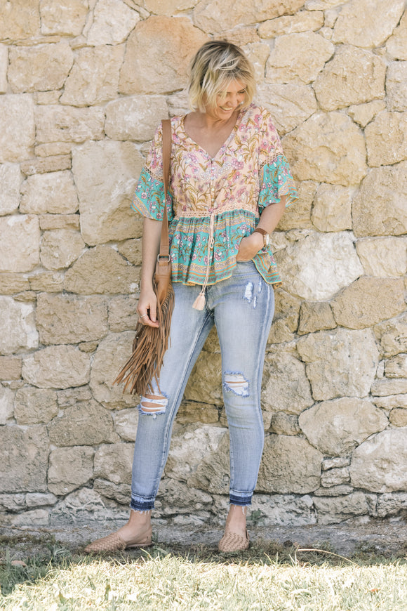 Ziggy Boho Top
