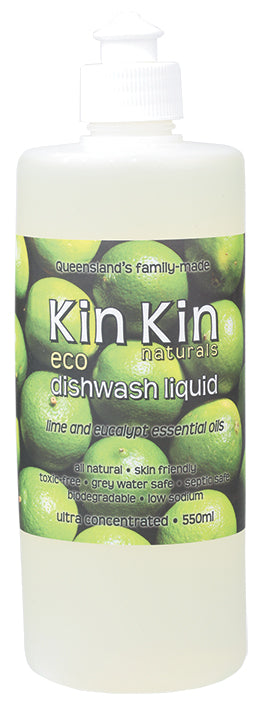 Dishwash Liquid - Lime & Eucalypt 550ml