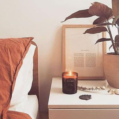 Saide -Zen Essential Oil Soy Candle