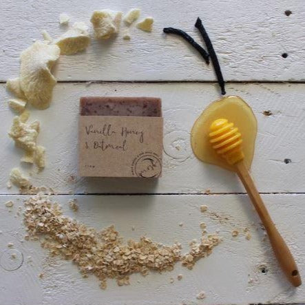 Vanilla, Honey & Oatmeal Soap