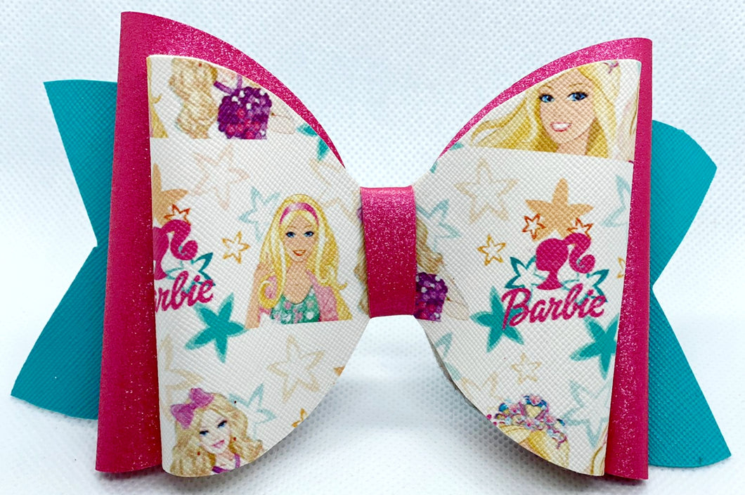 Barbie Vinyl Bow