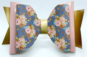 Floral Chic Hair Bow