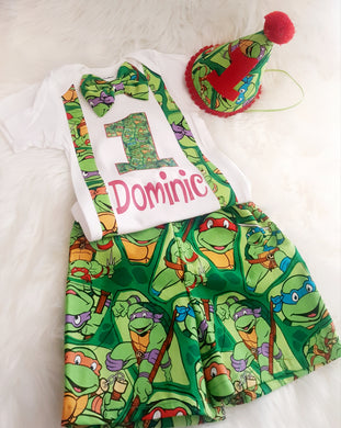Ninja Turtles Birthday Set