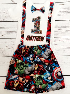 Avengers Boy Birthday Set
