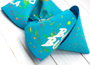 Blue Bad Bunny Inspired Bow