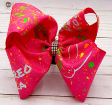 Load image into Gallery viewer, Pink Bad Bunny Inspired Bow
