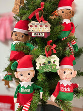 Load image into Gallery viewer, Plaid  Family  Christmas Ornament