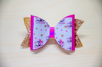 Channel Floral Bow