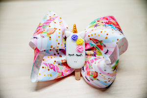 Unicorn Pop Bow