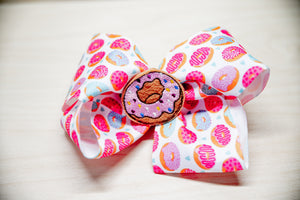 Donut Hair Bow