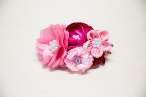 Fushia Flower Headband