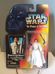 1995 Star Wars POTF2 Princess Leia Organa Carded Figure