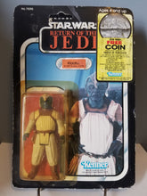 Load image into Gallery viewer, 1983 Star Wars Return of the Jedi Carded Klaatu in Skiff Guard Outfit with Punch